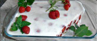 Освіжаючий десерт «Галаретка» - рецепт приготування