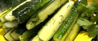 Смачні малосольні огірки, рецепт приготування