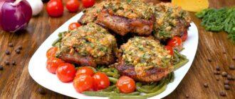 Свинина, запечена з сиром, рецепт приготування