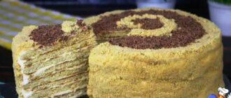 Торт на сковороді, рецепт приготування