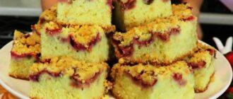 Торт-пиріг з полуницею, рецепт приготування