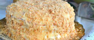 Торт «Пломбір» без випічки, рецепт приготування