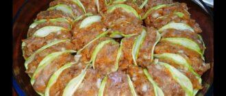 Запіканка з кабачків і фаршу, рецепт приготування