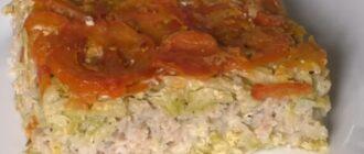 Запіканка з кабачків з фаршем, рецепт приготування