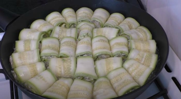 Весь тиждень їмо кабачки! Голубці з кабачків