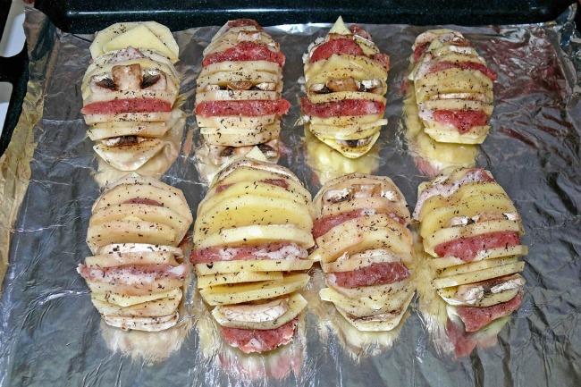 Картопля гармошка в духовці - відмінний рецепт