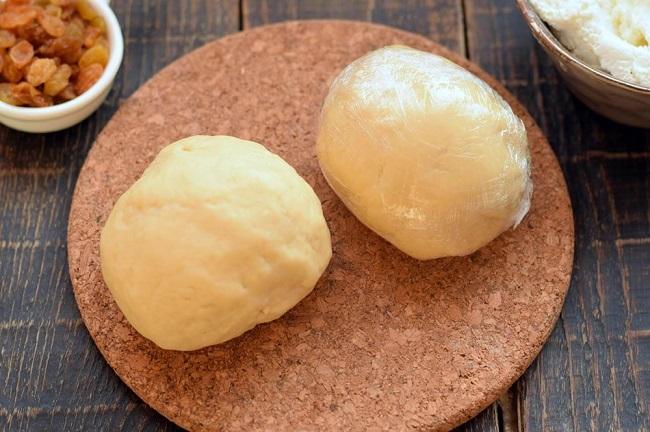 Тертий пиріг з сирною начинкою, покроковий рецепт