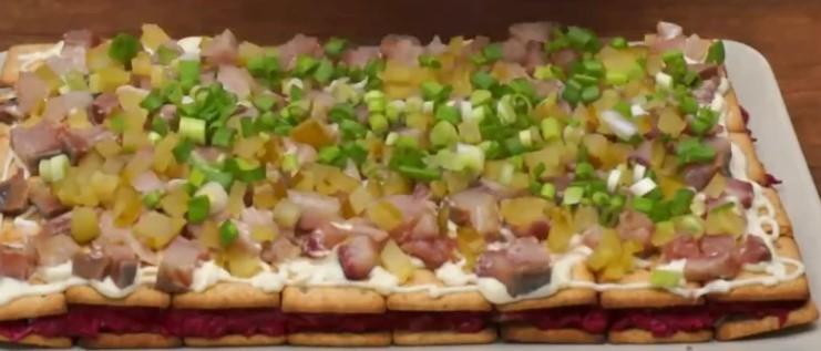 """Закусочний торт """"Сузір'я"""" - король святкового столу"""