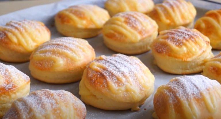 Ароматні пончики з класичною начинкою. Знала б раніше, що так смачніше, робила б тільки так