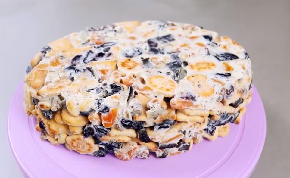 Швидкий торт без випікання - ще один смачний варіант