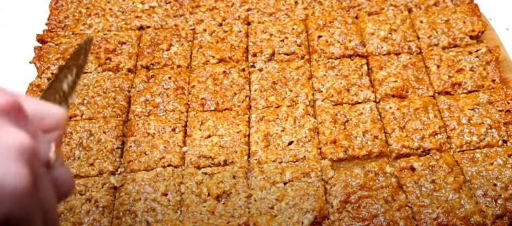 """Печиво """"горіхова насолода"""": випікаю і розрізаю. Ділюся рецептом"""