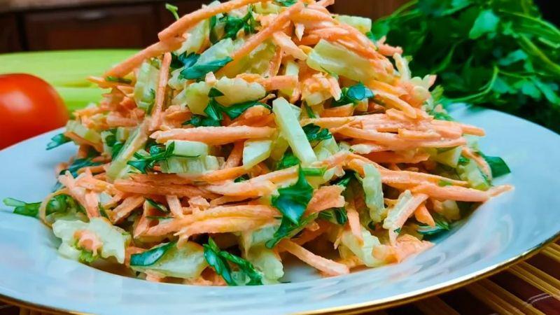Незвичайний салат з моркви, який я готую цілий рік (витрачаю не більше 5 хвилин і смачно дуже)