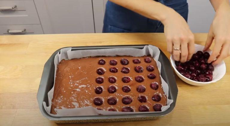 Пиріг «Хвилі Дунаю» з вишнею. Дуже смачний, душевний, домашній, святковий!