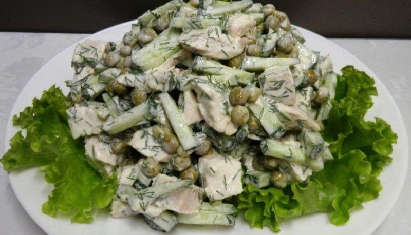 Простий домашній салат «Леді». Підходить для вечері і святкового столу
